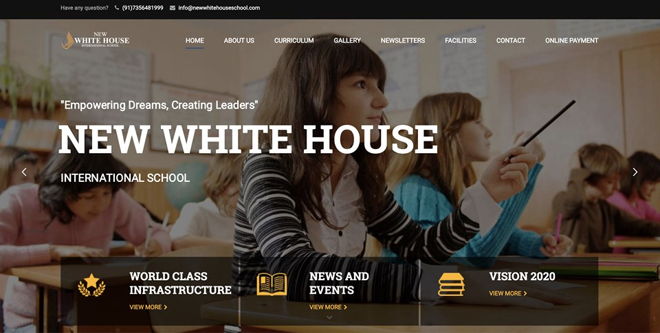 New White House School