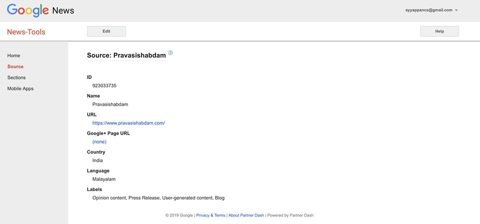 Pravasi Shabdam Google News